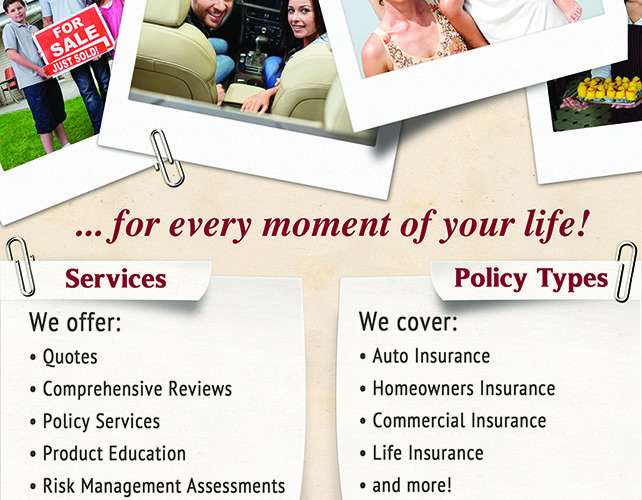 Briggs Family Insurance Flyers