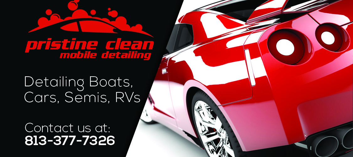 Pristine Clean Mobile Detailing Business Cards