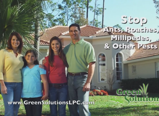 Green Solutions Lawn and Pest Control TV Commercials