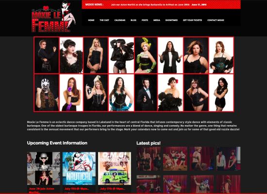 Moxie Le Femme Website